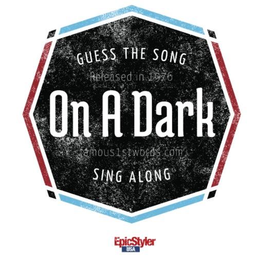 On A Dark