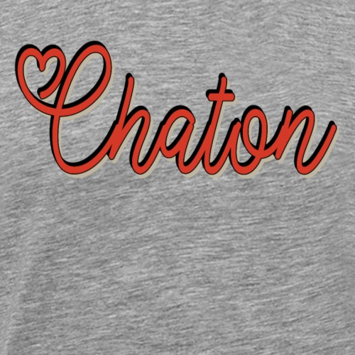 Chaton - T-shirt Premium Homme