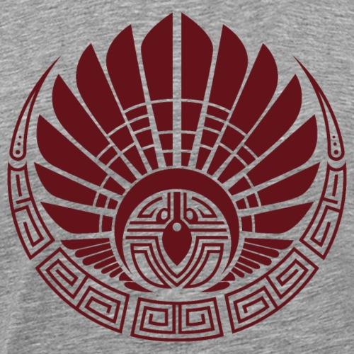 Quetzalcoatl Couvre Chef Maya Calendrier Maya - T-shirt Premium Homme