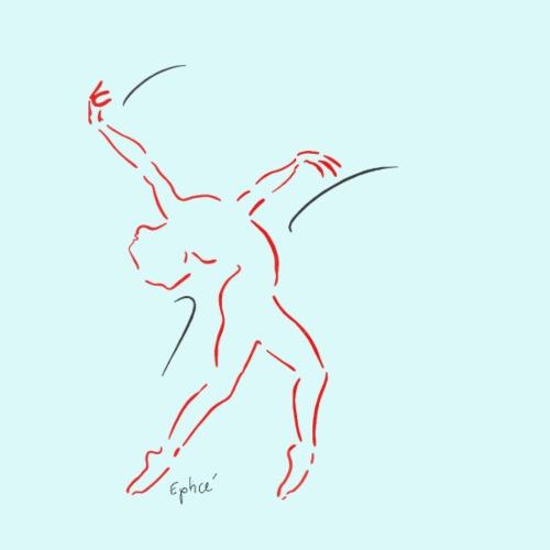 danseuse - T-shirt Premium Homme