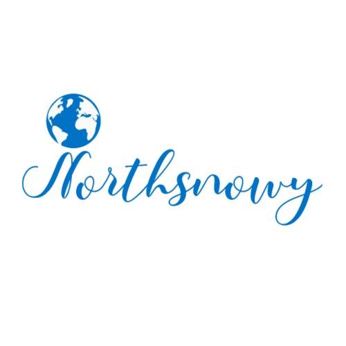 Northsnowy schreibschrift - Männer Premium T-Shirt