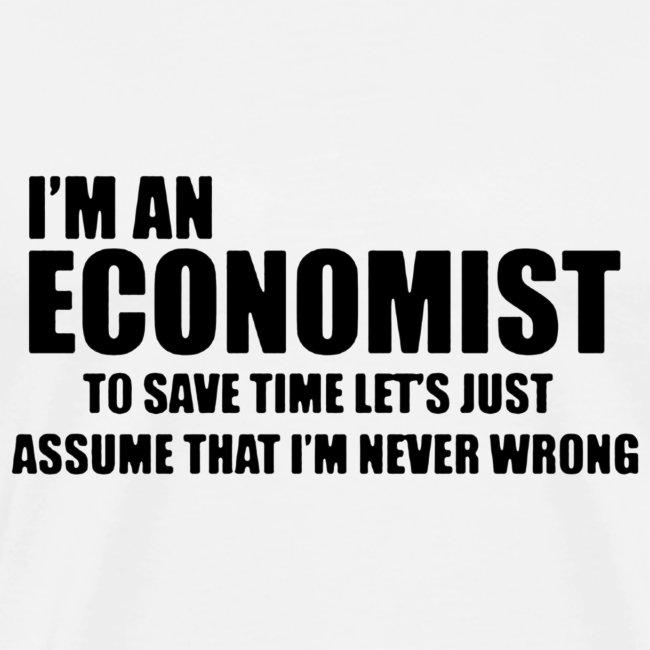 Black Iam An Economist