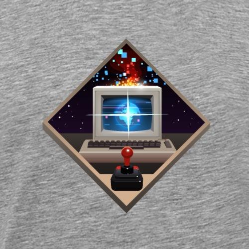 C64 retro nostalgia - Men's Premium T-Shirt