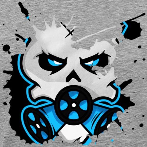 HZ GasHead Logo splash - Männer Premium T-Shirt
