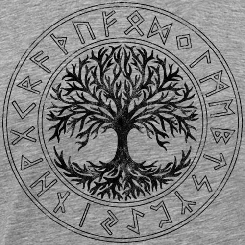 Keltisches Symbol, Baum des Lebens, Runen, Celtic - Männer Premium T-Shirt