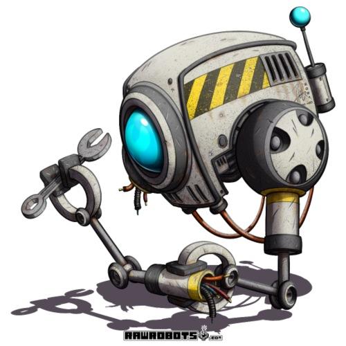 The T.O.O.L. Robot! - Herre premium T-shirt
