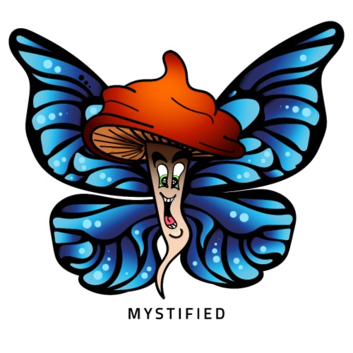 Mystified Butterfly - Mannen Premium T-shirt