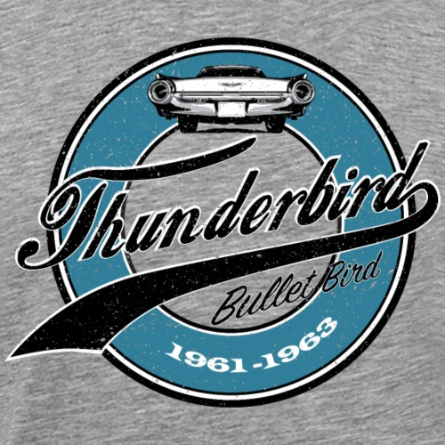 Vintage Thunderbird Bullet Bird - Männer Premium T-Shirt