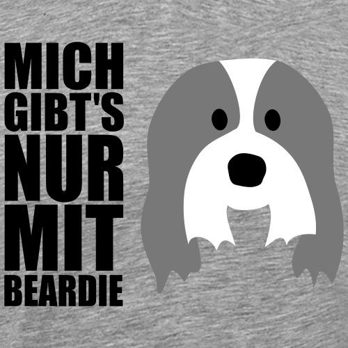 Bearded Collie - Männer Premium T-Shirt