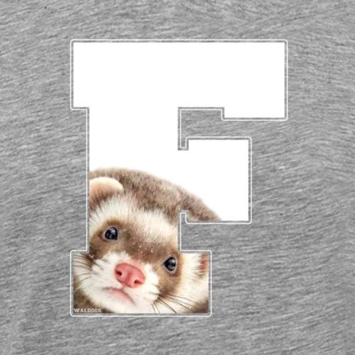 F Ferret - Miesten premium t-paita