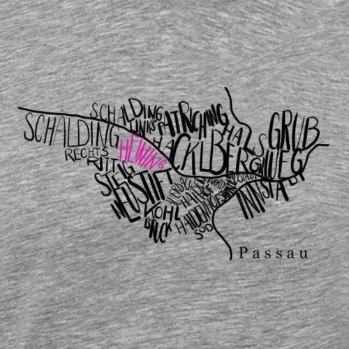 Passau Heining - Männer Premium T-Shirt