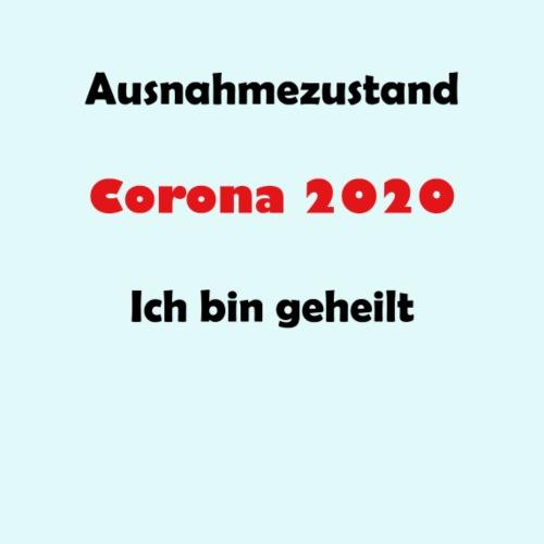 Ausnahmezustand Corona 2020 - Männer Premium T-Shirt