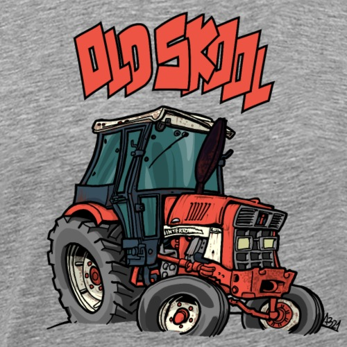 1015 OLD SKOOL IH - Mannen Premium T-shirt