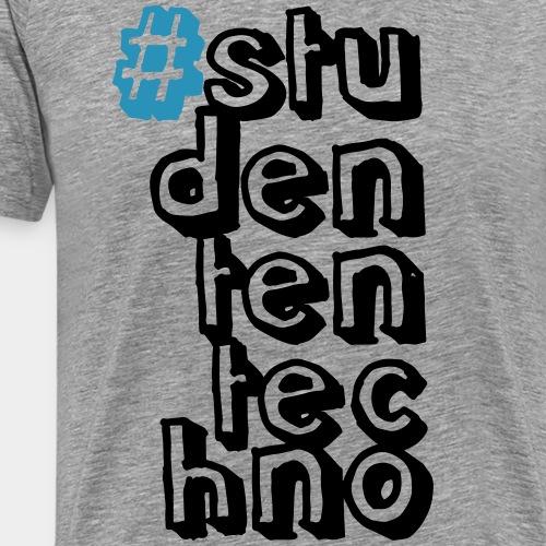 #studententechno (groß) - Männer Premium T-Shirt