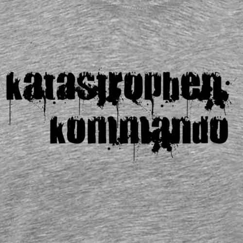 KK Logo schwarz - Männer Premium T-Shirt