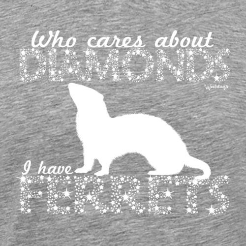 Ferret Diamonds - Miesten premium t-paita