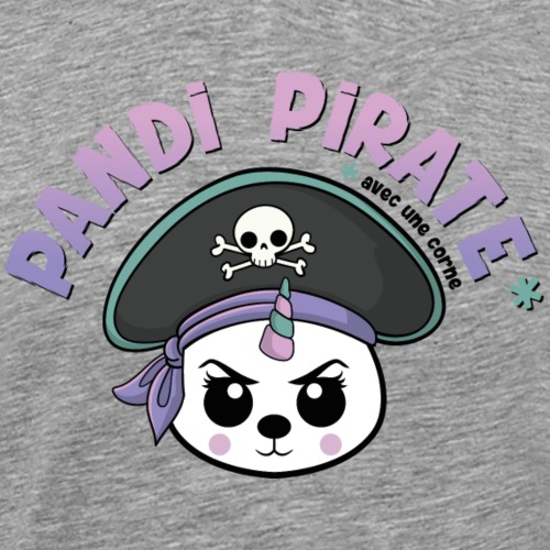Pandi pirate - T-shirt Premium Homme