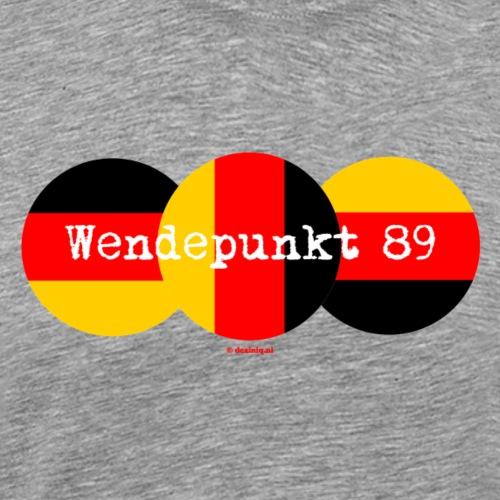 Wendepunkt 89 - Mannen Premium T-shirt