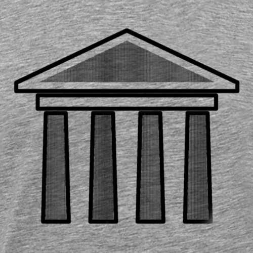 Greek Temple - Maglietta Premium da uomo