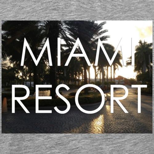 miami beach - Männer Premium T-Shirt