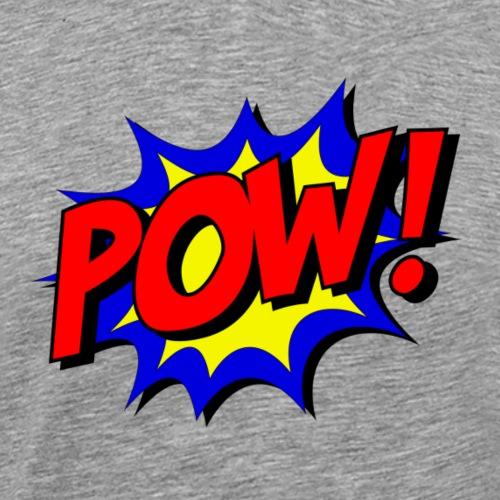 Pow Logo - Männer Premium T-Shirt