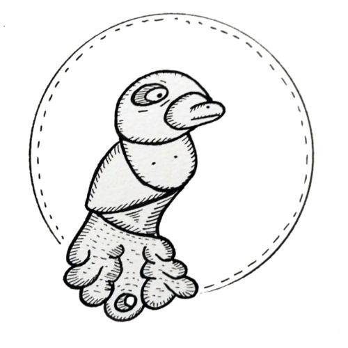 Oiseau oiseau - T-shirt Premium Homme