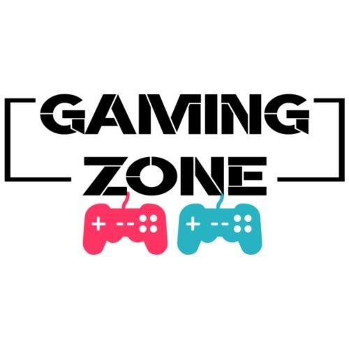 Cooles Gaming Zone Design mit Kontroller - Männer Premium T-Shirt