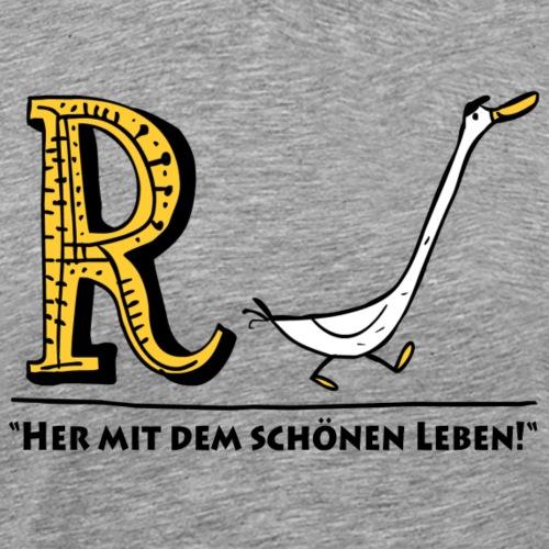 Rente - Männer Premium T-Shirt