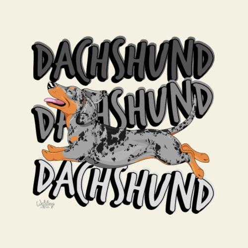 dachsdachsdachs10 - Miesten premium t-paita