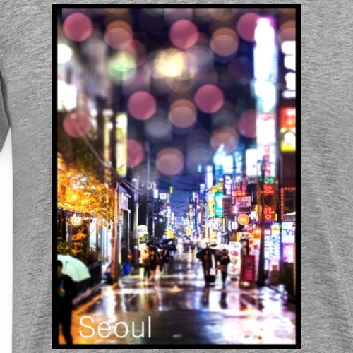 Seoul Streets - Männer Premium T-Shirt