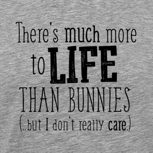 Bunnies More B - Miesten premium t-paita
