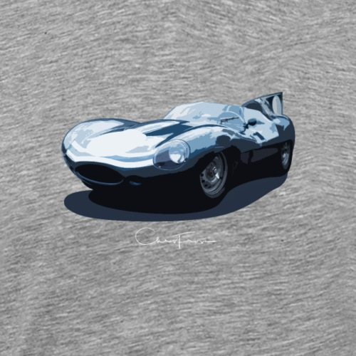 Signature Series Le Mans D-Type Design - Men's Premium T-Shirt