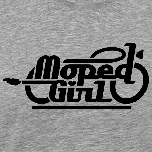 Moped Girl / Mopedgirl (V1) - Men's Premium T-Shirt