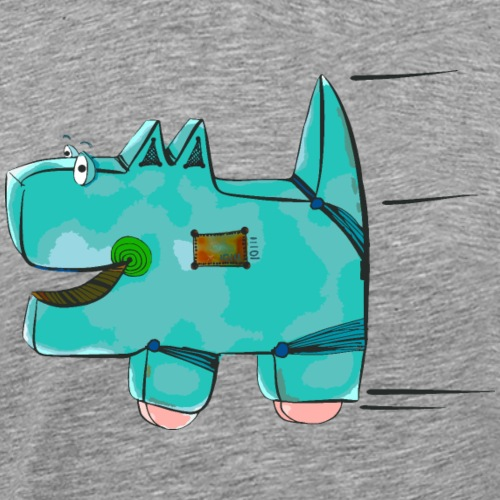 DoggieBot - by irk - Männer Premium T-Shirt