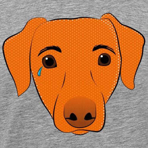 Pop Art Dog - Männer Premium T-Shirt