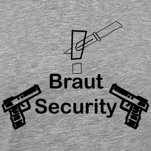 Braut Security | Junggesellenabschied - Männer Premium T-Shirt