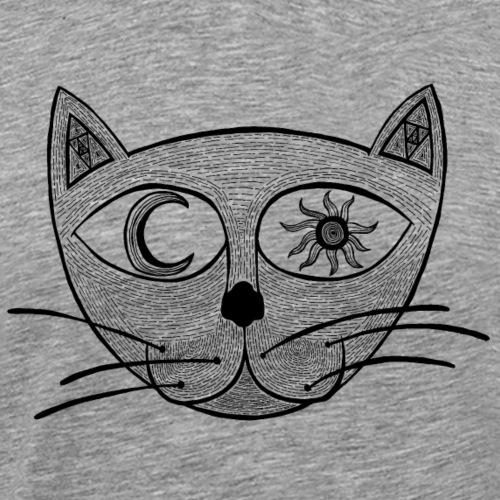 Heavens Cat - Männer Premium T-Shirt