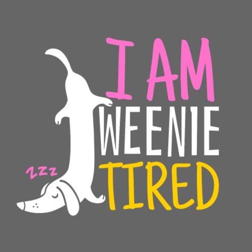 Weenie Tired - Miesten premium t-paita