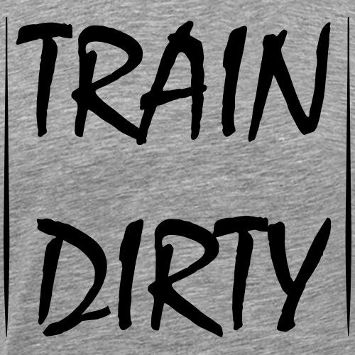 train_dirty - Männer Premium T-Shirt