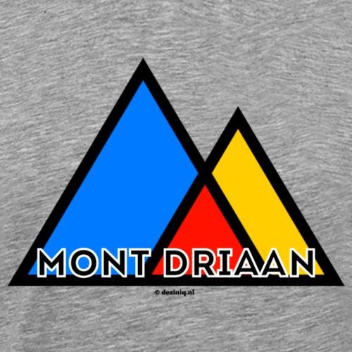 Mont Driaan - Mannen Premium T-shirt