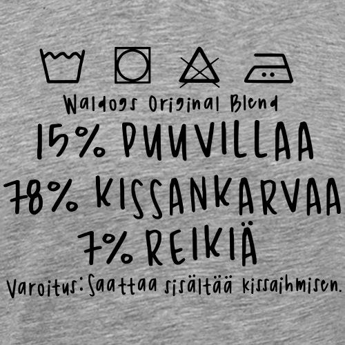 Kissan Omistajan Paita - Miesten premium t-paita
