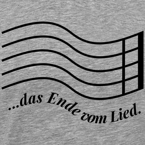 Das Ende vom Lied - Männer Premium T-Shirt