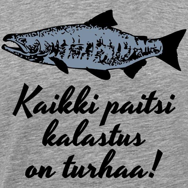 Kaikki paitsi kalastus on turhaa - hopea