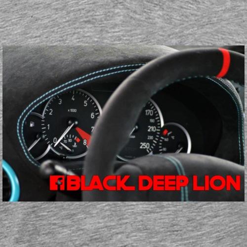 Black Deep Lion Package - Männer Premium T-Shirt