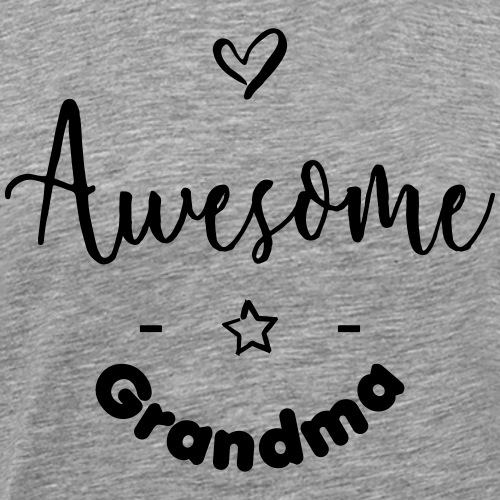 Awesome-Grandma - T-shirt Premium Homme