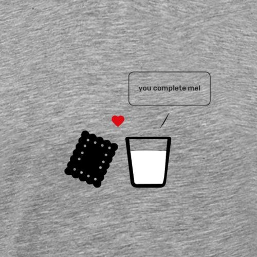Regali per Innamorati | Mi Completi - Maglietta Premium da uomo