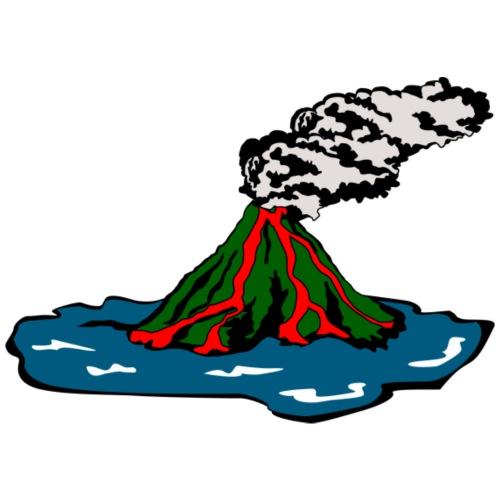 Volcano Island - Men's Premium T-Shirt