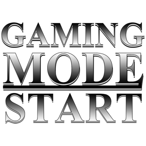 Gaming Mode Start Gamer Zocker - Männer Premium T-Shirt