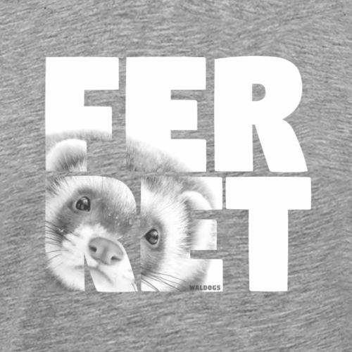 NASSU Ferret II - Miesten premium t-paita