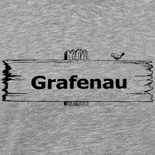 Grafenau1 - Männer Premium T-Shirt